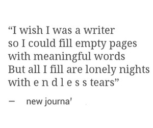 alone, cry, and journal image