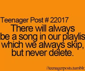 teenager post, true, and song image