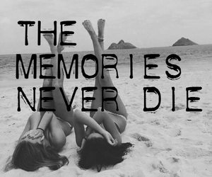 b&w, memories, and quotes image