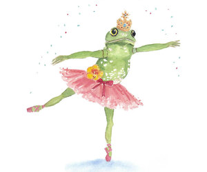 art, frog, and illustration image