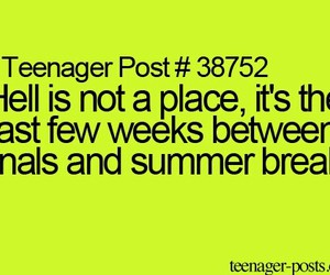 quote, summer, and teenager post image