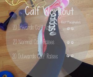 workout and calf image