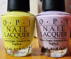 nail polish, opi, and nails image