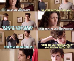 funny, teen wolf, and isaac image