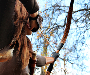 archery, celtic, and fantasy image
