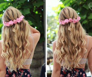 beach, hairstyle, and summer image
