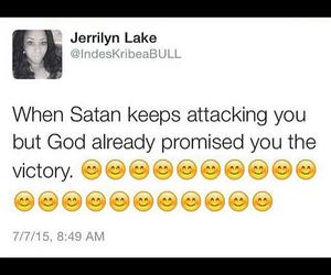 god, tweet, and victory image