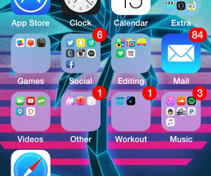 iphone, apps, and home screen image