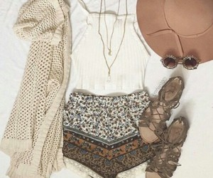 autumn, chic, and dress image