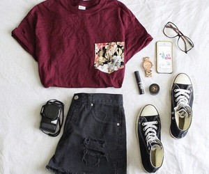 converse, iphone, and fashion image