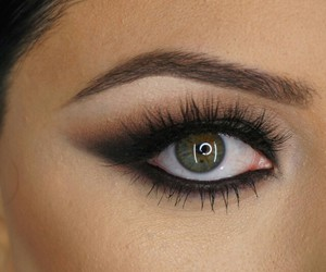 black, brown, and lashes image