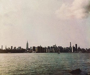 new york, ocean, and summer image