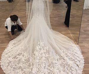 bridal, Couture, and lace image