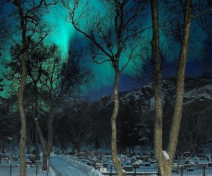 gorgeous, lights, and northern image