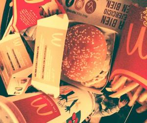 burger, food, and fries image