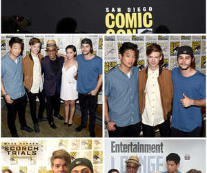 comic con and dylan o'brien image
