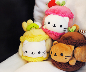 cute, kawaii, and plush image