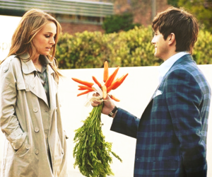 love, carrot, and ashton kutcher image