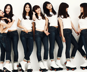 girl, girls generation, and idol image