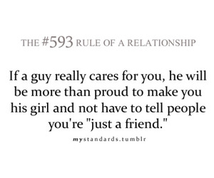 boy and rule of a relationship image