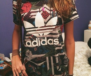 adidas and colorful image