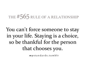 text and rule of a relationship image