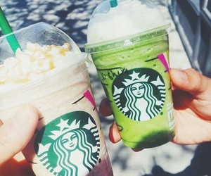 food, starbucks, and coffee image