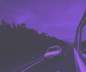 purple and grunge image