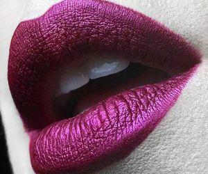lips, kat von d, and lipstick image