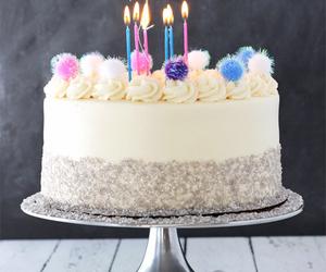 dessert, food, and birthday image
