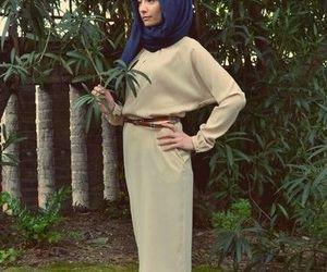 hijab, muslim, and hijab fashion image