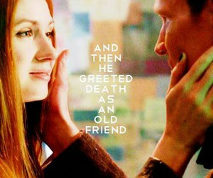 doctor who, matt smith, and amy pond image