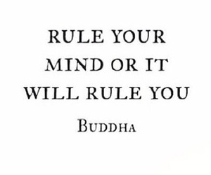 Buddha, mind, and quote image