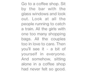 city, coffee, and coffeeshop image