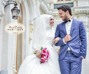 hijab and love image