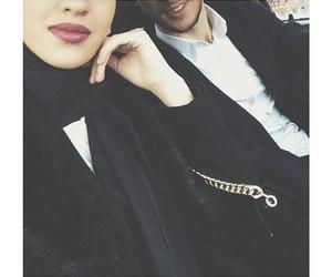 hijab, islam, and islamic love image
