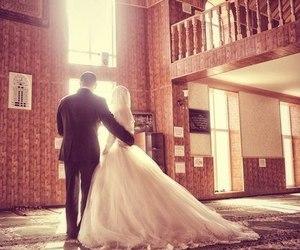 wedding, love, and muslim image
