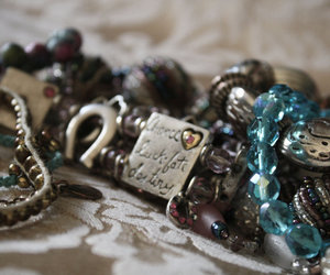bracelets, crystals, and jewellery image