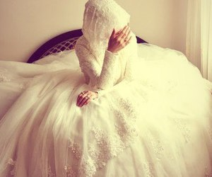blessed, islam, and muslim bride image