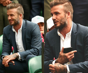 black, David Beckham, and body image