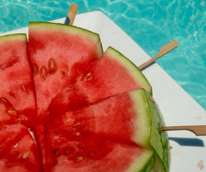 summer, watermelon, and ❤ image