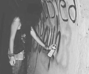 grunge, punk, and black image