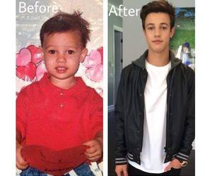 after, before, and cameron dallas image