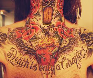 tattoo, death, and boy image