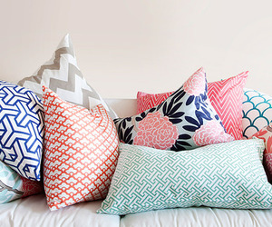 pillow, home, and pretty image