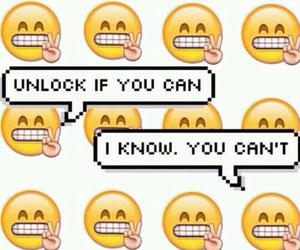 wallpaper, emoji, and unlock image