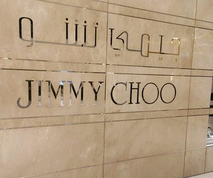 Jimmy Choo and luxury image