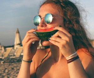 summer and sunglasses ●.● image