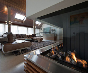 house, luxury, and dark image