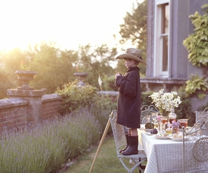 garden party, wellies, and hunter boots image